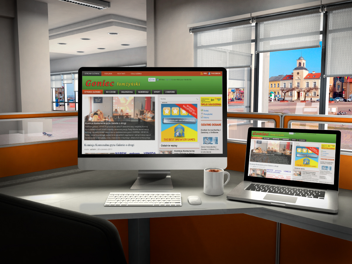 Projektowanie stron internetowych Łomża, Kolno, Zambrów