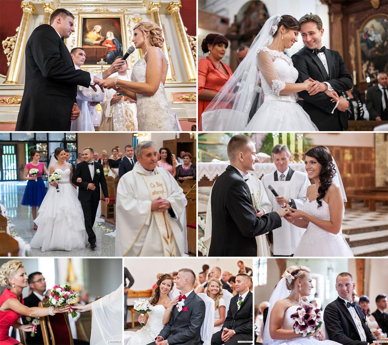 Ceremonia ślubna, zdjęćia w kościele, reportaż ślubny Łomża, fotograf Ostrołęka, Zambrów dobry fotograf, zdjęcia w Urzędzie Stanu Cywilnego, przysięga małżeńska Łomża