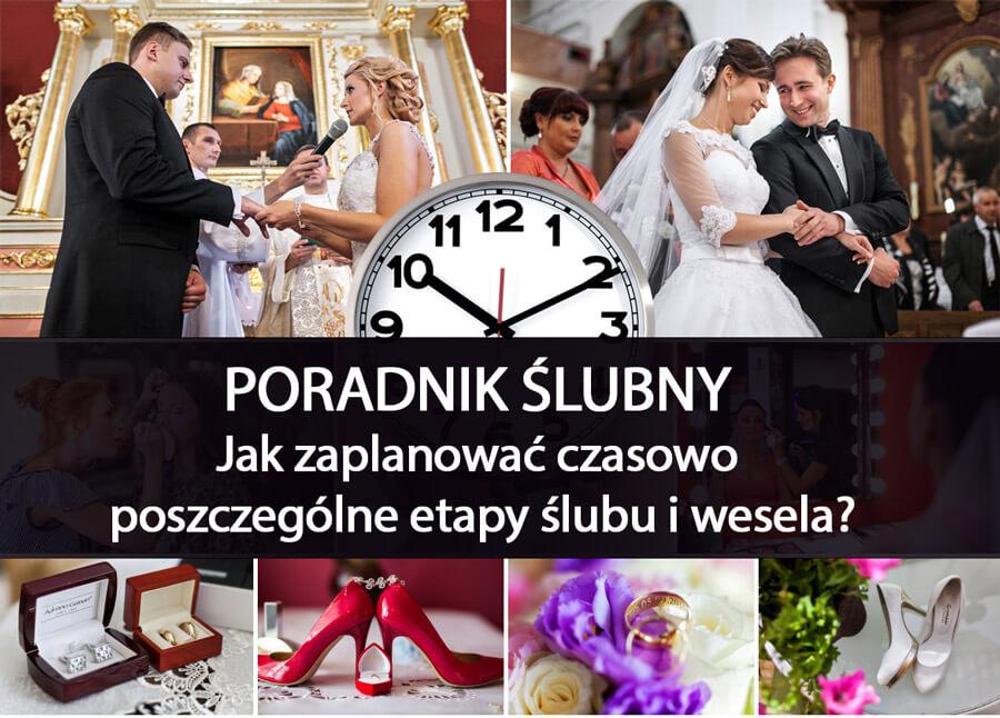 Jak zaplanować czasowo etapu ślubu i wesela