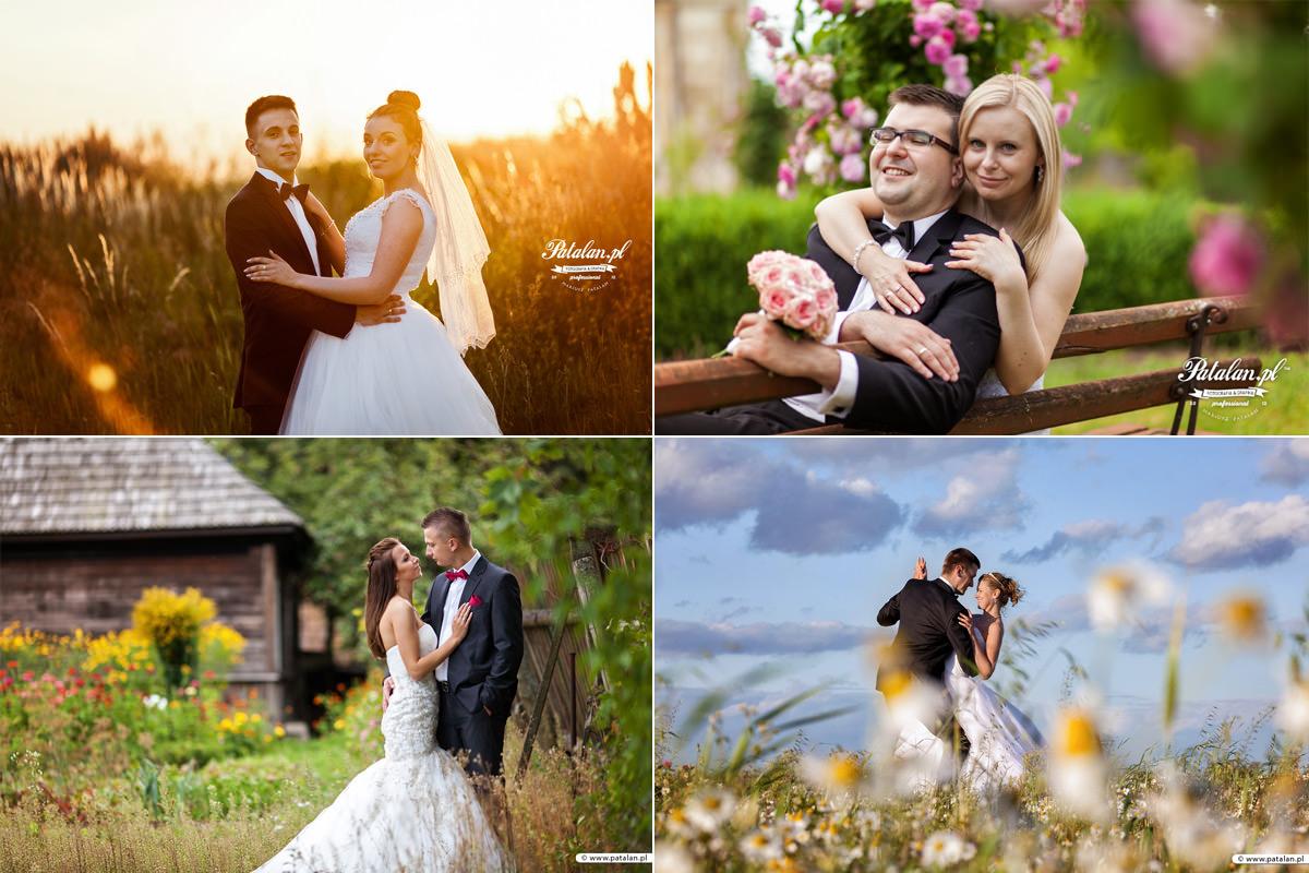 Kreatywne pomysły na zdjęcia ślubne w plenerze, Galeria zdjęć z sesji w plenerze. Profesjonalne sesje ślubne w plenerze