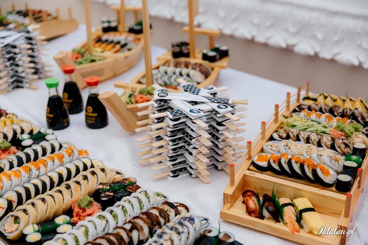 suszi na wesele, koku sushi łomża, fotograf ślubny zambrów, fotograf zambrow, fotografia slubna lomza 052
